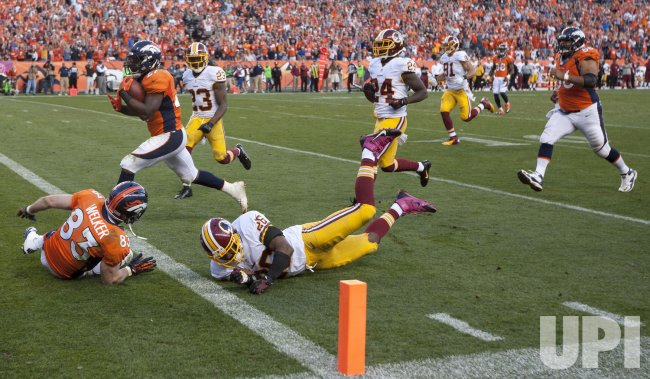 Washington Redskins Vs. Denver Broncos