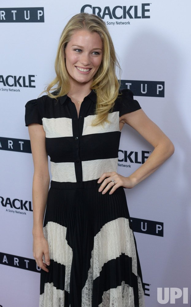 "Ashley Hinshaw attends Crackle's ""Startup"" premiere in West Hollywood"