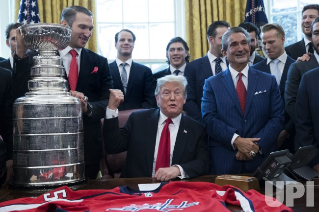 President Trump hosts the 2018 Stanley Cup Champions the Washington Capitals