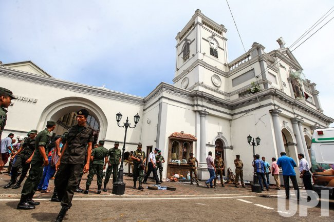 Mass Casualties In Churches And Hotels In Sri Lanka