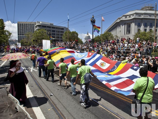 LGBT Pride Parade in San Francisco