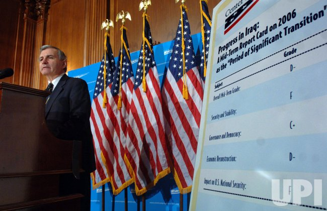 SEN. REED DISCUSSES BUSH ADMINISTRATION'S RECORD THIS YEAR IN IRAQ