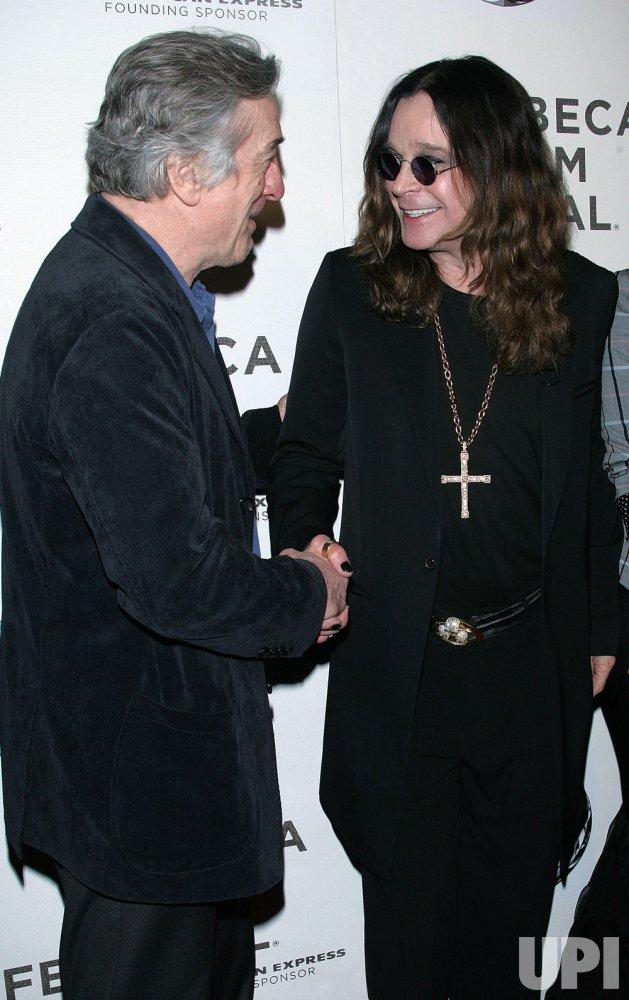 """Osbourne Family arrives for the Tribeca Film Festival Premiere of """"God Bless Ozzy Osbourne"""" in New York"""