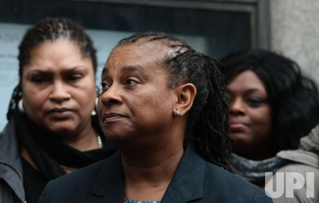 DOREEN LAWRENCE ADDRESSES THE MEDIA AFTER STEPHEN LAWRENCE VERDICT