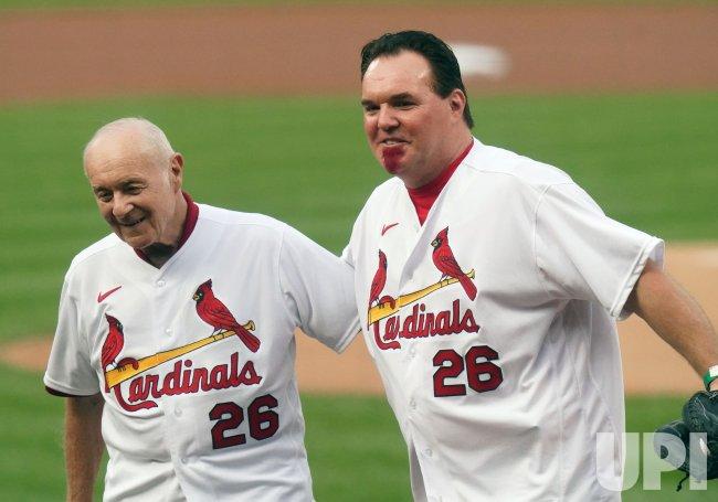 Former St. Louis Cardinals Ed Spiezo and Scott Spiezo