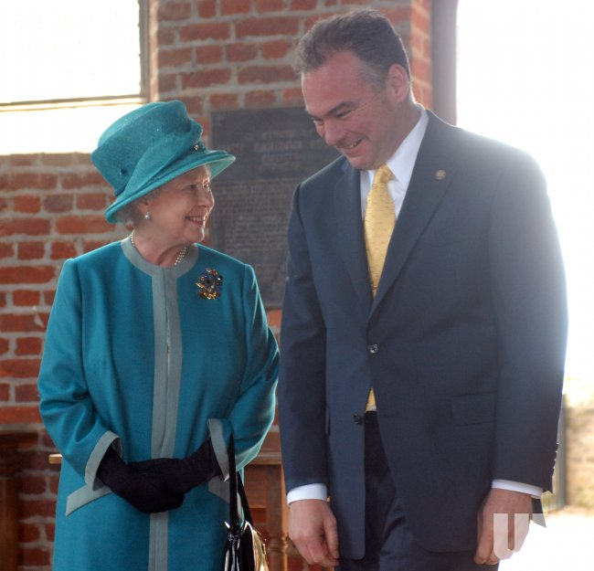 BRITAIN'S QUEEN ELIZABETH II VISITS HISTORIC JAMESTOWNE IN VIRGINIA
