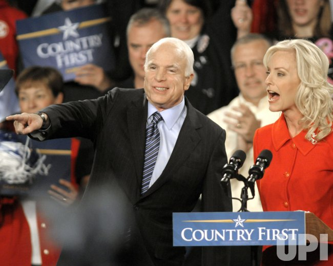 John McCain Road to Victory Rally in Pittsburgh