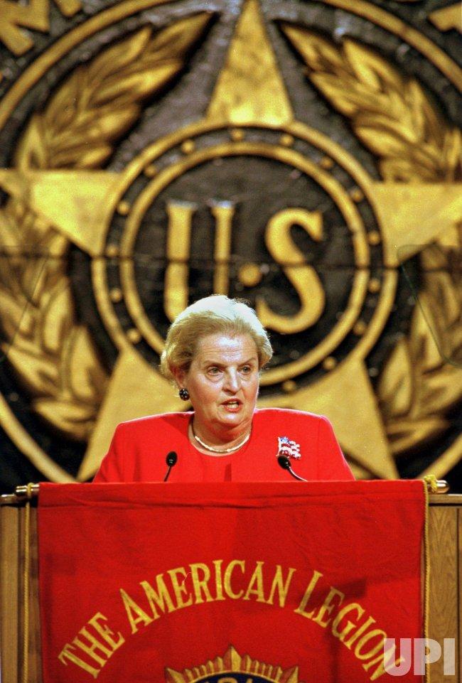 Secretary of State Madeleine Albright