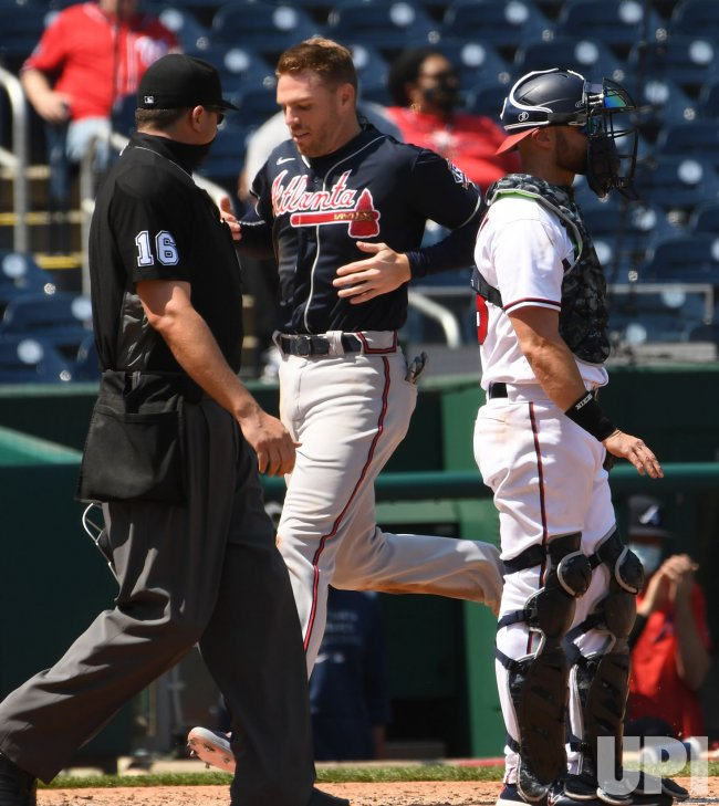 Braves Defeat the Nationals in Washington