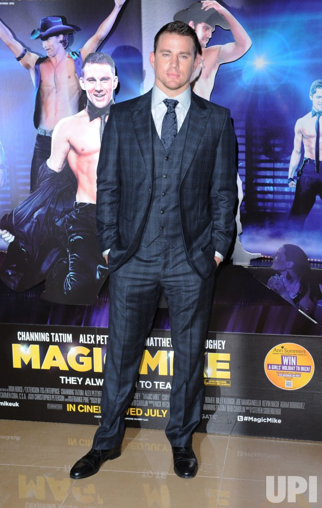 "Channing Tatum attends the European premiere of ""Magic Mike"" in London"