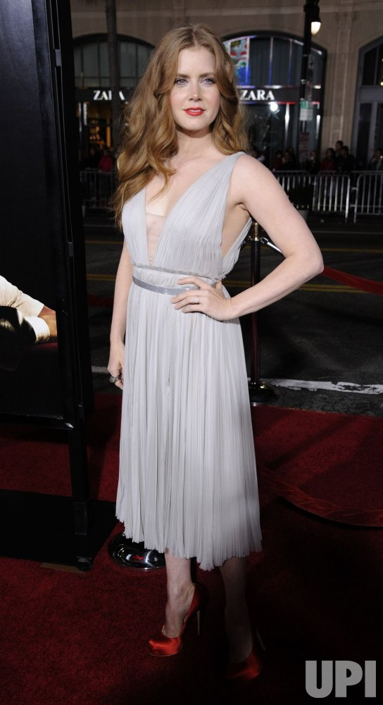 "Amy Adams attends the premiere of the film ""The Fighter"" in Los Angeles"