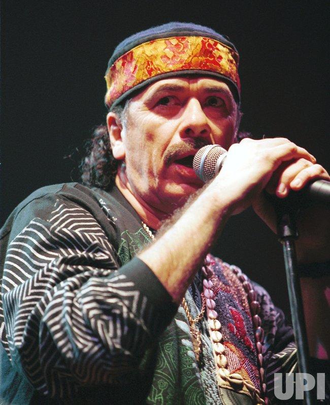 Carlos Santana in Vancouver