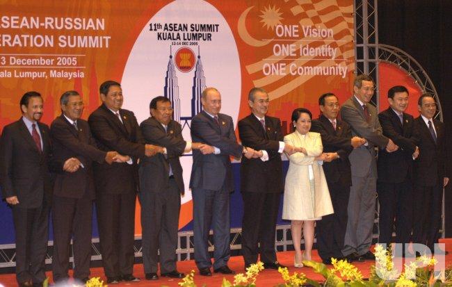 RUSSIAN PRESIDENT PUTIN VISITS MALAYSIA