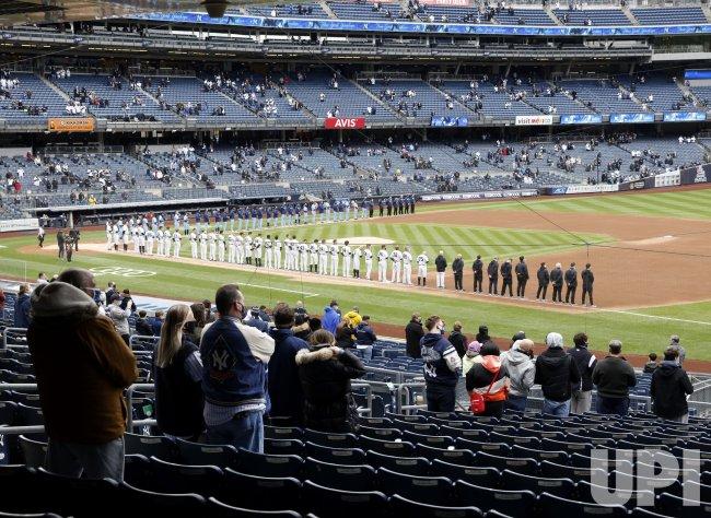 MLB Opening Day at Yankee Stadium