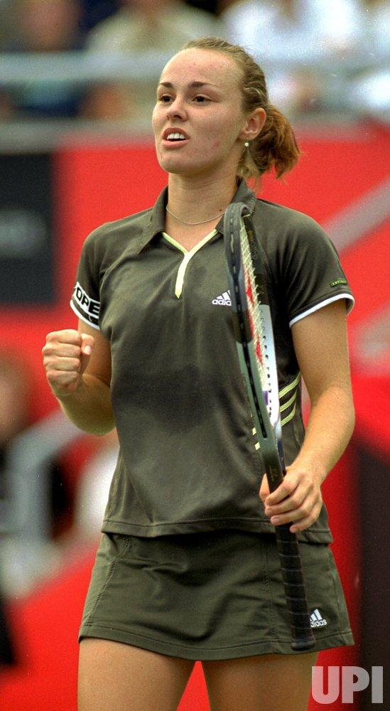 Martina Hingis at the Canadian Open