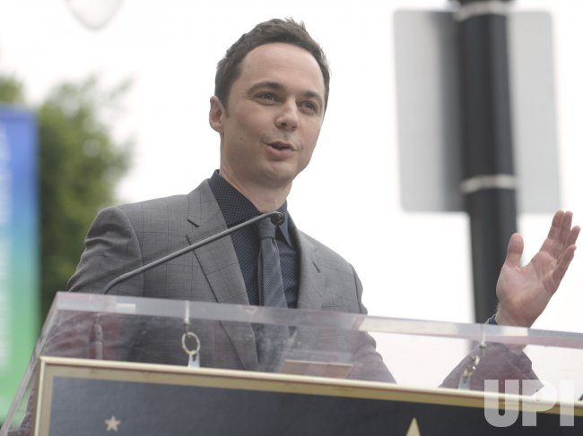 Jim Parsons Star on the Hollywood Walk of Fame