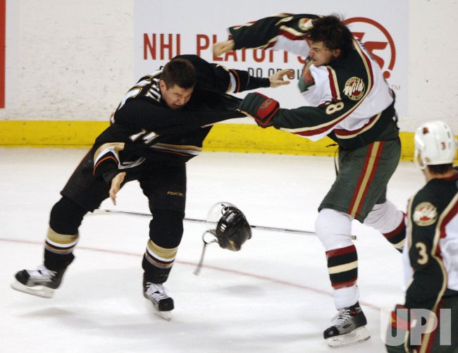MINNESOTA WILD VS ANAHEIM DUCKS IN WESTERN CONFERENCE QUARTERFINALS