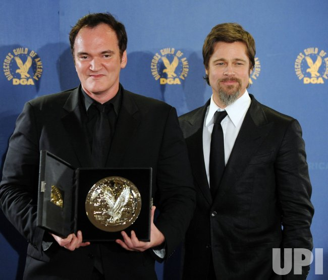 Quentin Tarantino honored at DGA Awards in Los Angeles