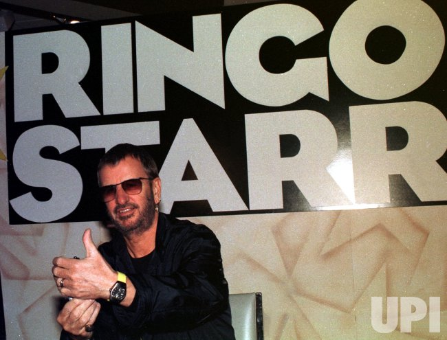 Ringo Starr promos new album cd in New York