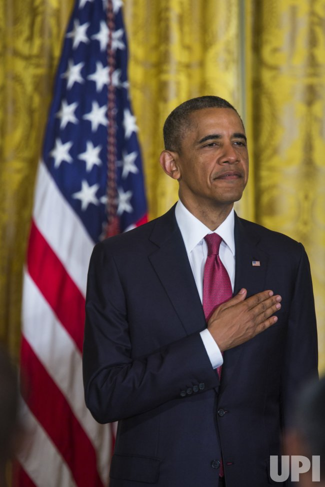 Obama Presides Over Naturalization Ceremony in Washington