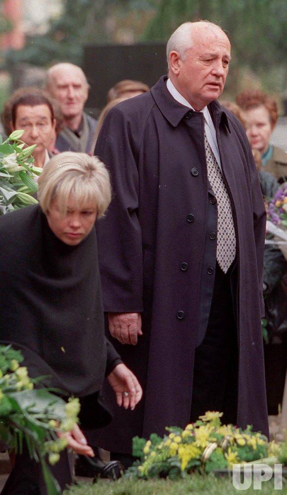 Mikhail Gorbachev anniversary of wife's death