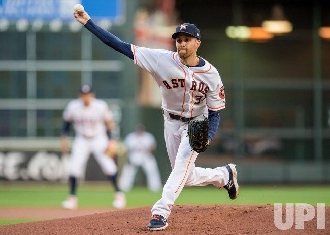 Astros starting pitcher Collin McHugh - UPI.com