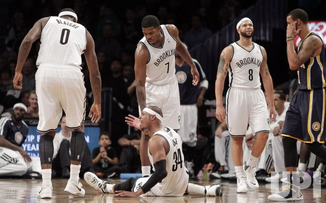 Nets vs Pacers at Barclays Center