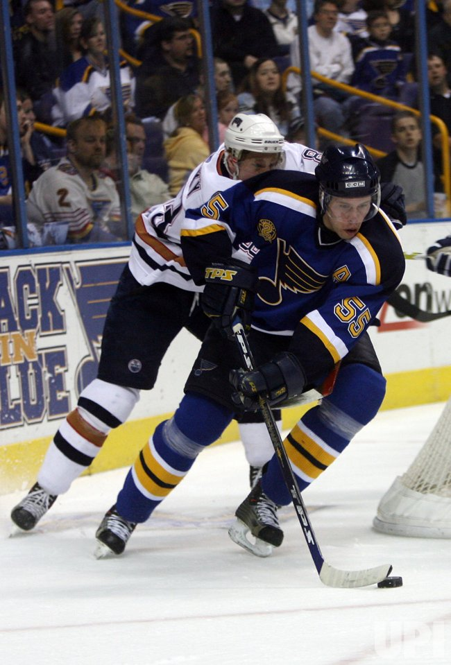 ST. LOUIS BLUES RETIRE AL MACINNIS NUMBER