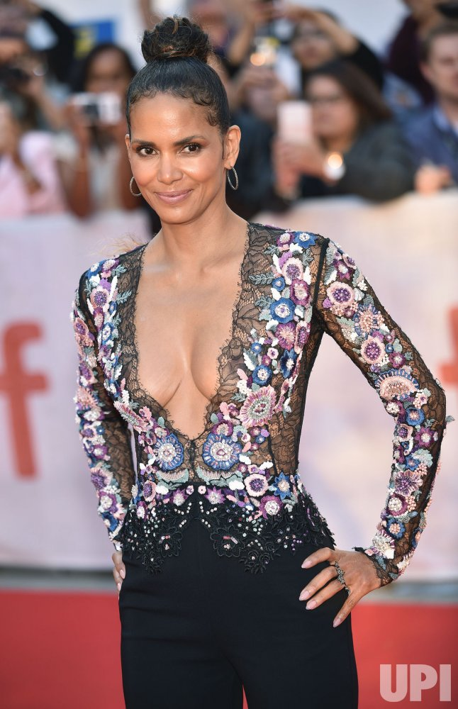 Halle Berry attends 'Kings' world premiere at Toronto International Film Festival