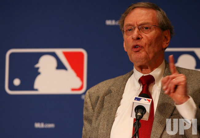 Bud Selig comments on George Mitchell's baseball report in New York