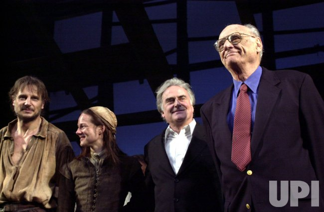 Liam Neeson opens on Broadway in Arthur Miller play The Crucible