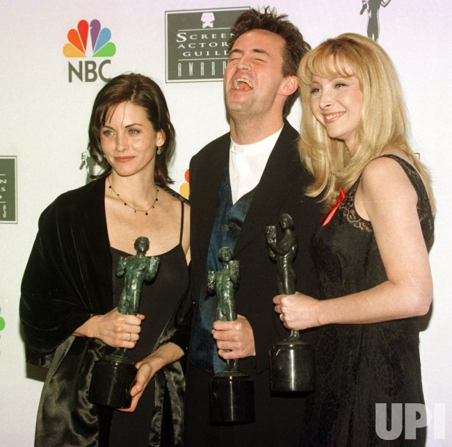 Courteney Cox, Matthew Perry and Lisa Kudrow