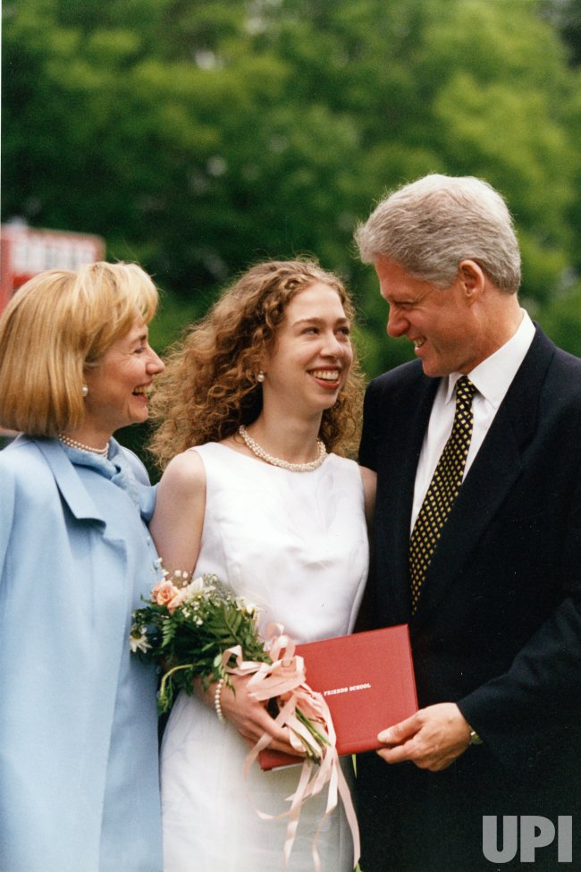 Chelsea Clinton graduates from Sidwell Friends High School ...