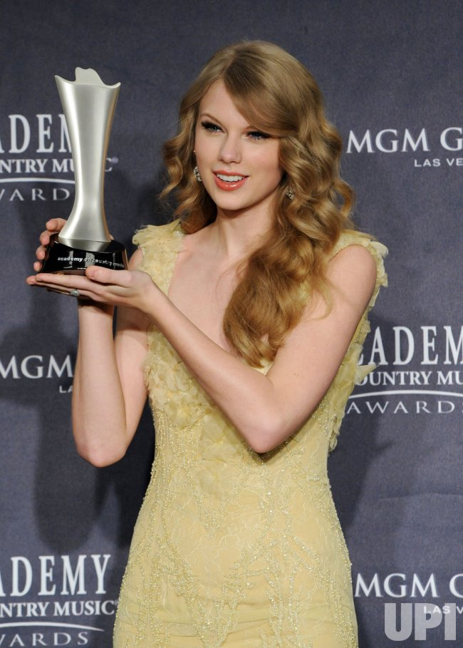 Taylor Swift named Entertainer of the Year at the 46th annual Country Music Awards in Las Vegas
