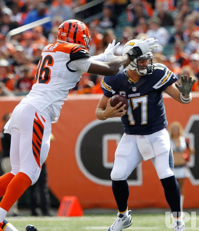 Cincinnati Bengals against the San Diego Chargers