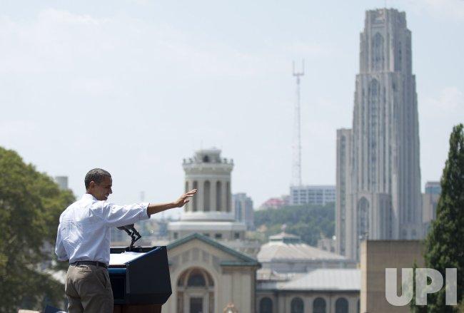 President Obama Campaigns in Pennsylvania