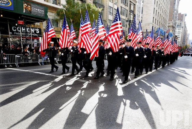 Thousands march in the 92nd Annual Veterans Day Parade in New York