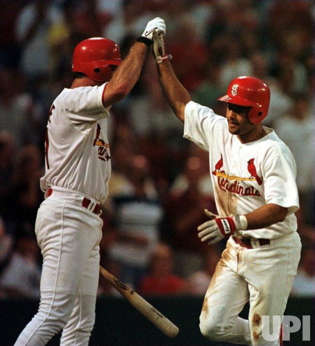 St. Louis Cardinals vs Flordia Marlins baseball