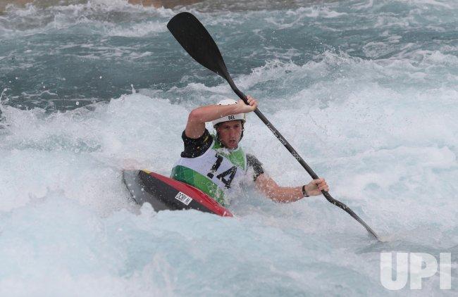 Men's kayak Slalom Semi-Final at 2012 Olympics in London