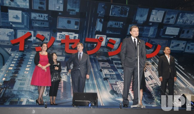 """Inception"" Japan premiere"