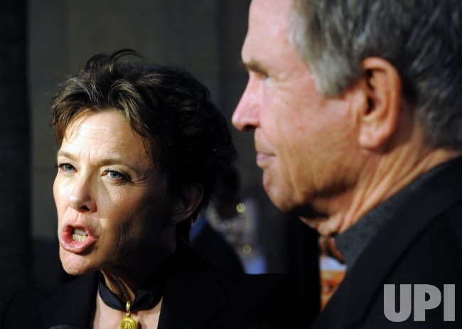 "Annette Bening and Warren Beatty attend the ""Mother and Child"" premiere in Los Angeles"