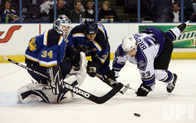 LOS ANGELES KINGS VS ST. LOUIS BLUES HOCKEY