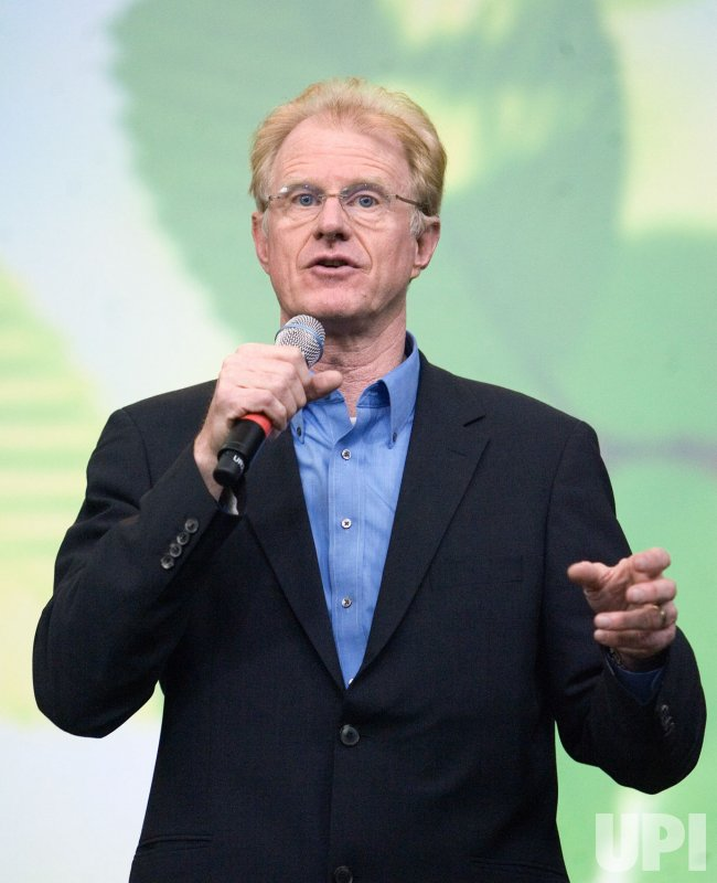 Actor and activist Ed Begley Jr. gives a talk on living simply so others can simply live at the inaugural Green Living Show in Vancouver