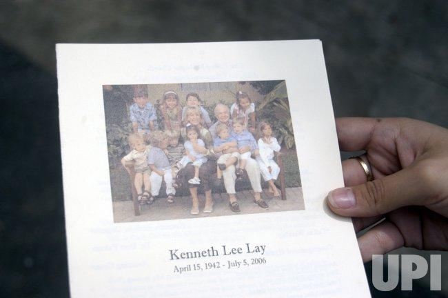 KEN LAY MEMORIAL SERVICE