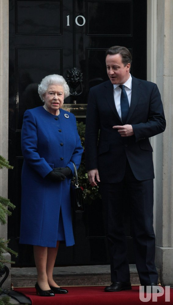 Queen Visits No.10 Downing Street for Cabinet Meting