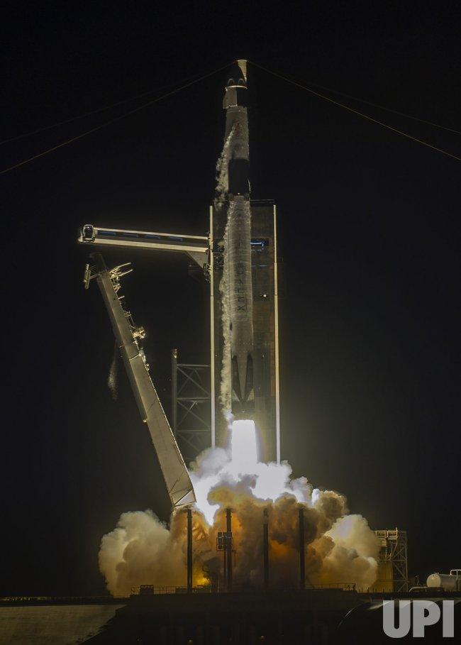 SpaceX Falcon 9 Launches NASA's Crew-2 Mission