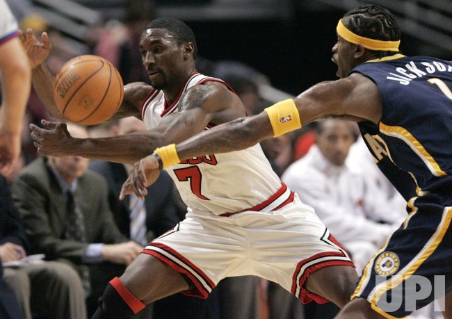 NBA INDIANA PACERS VS CHICAGO BULLS