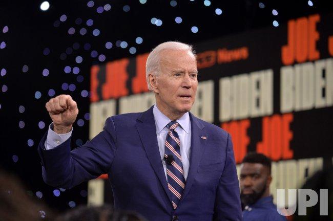 Democratic candidate Joe Biden attends Brown & Black Presidential Forum in Iowa