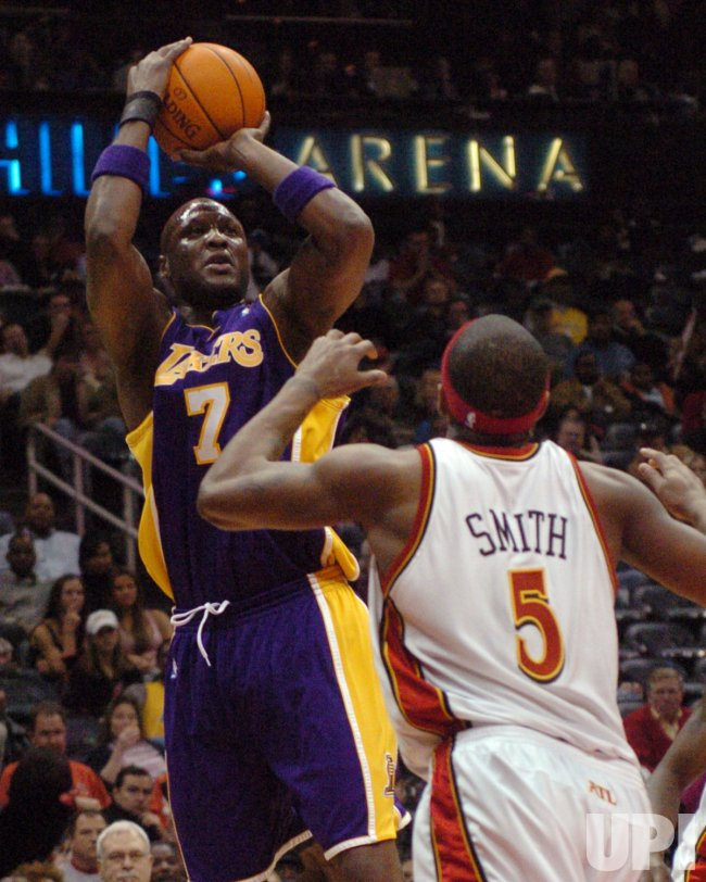 ATLANTA HAWKS VS LOS ANGELES LAKERS