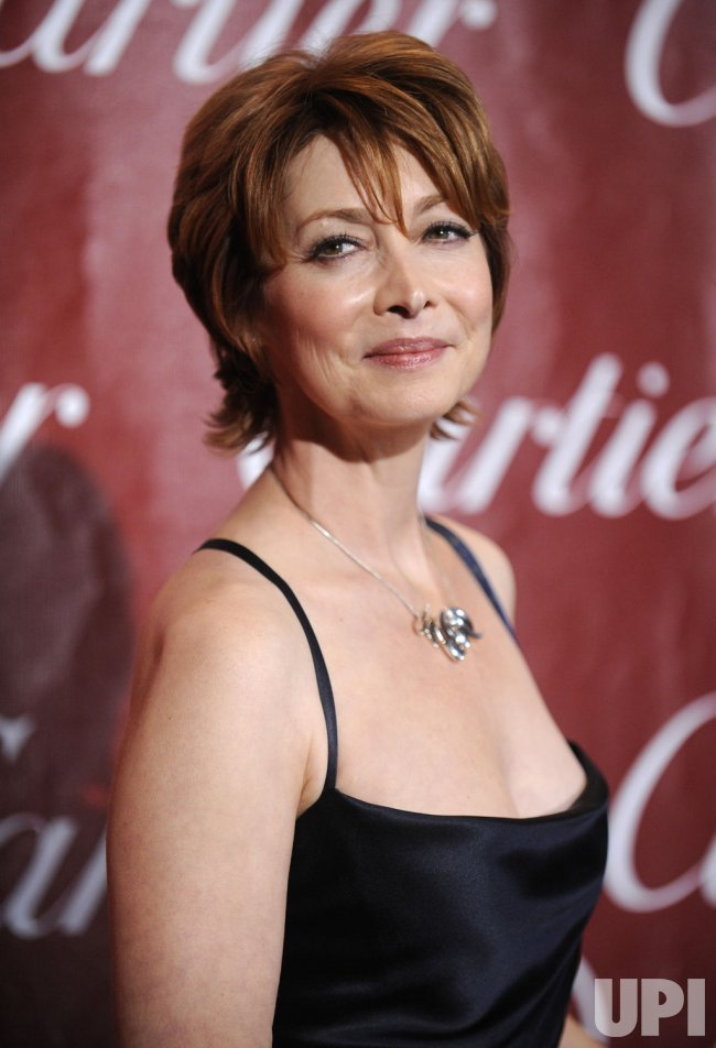 Actress Sharon Lawrence attends the Palm Springs International Film Festival Awards Gala in Palm Springs, California